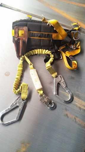Cintos de Sergunça usados, venda do kit.