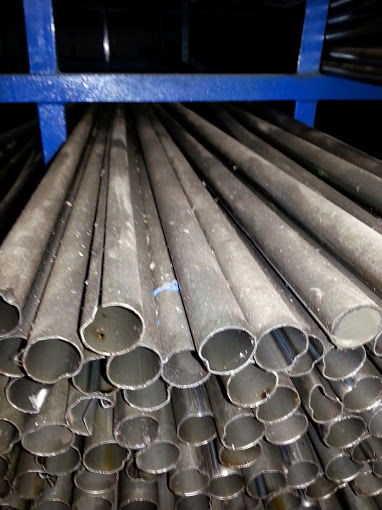 Tubos industriais de segunda linha em aço carbono